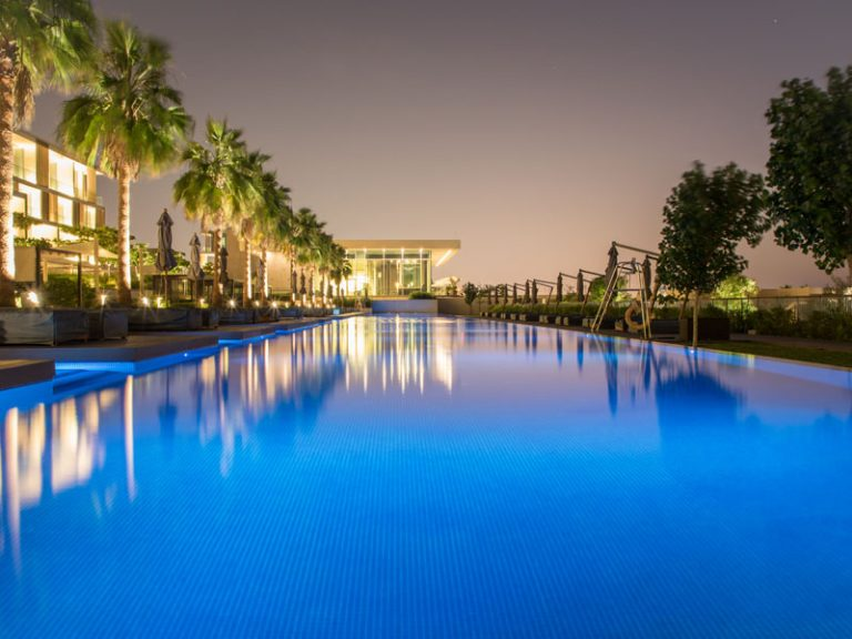 The Oberoi Al Zorah Swimming Pool constructed by Desert Leisure