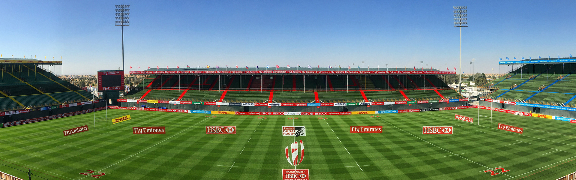 Emirates 7s pitch built by desert group