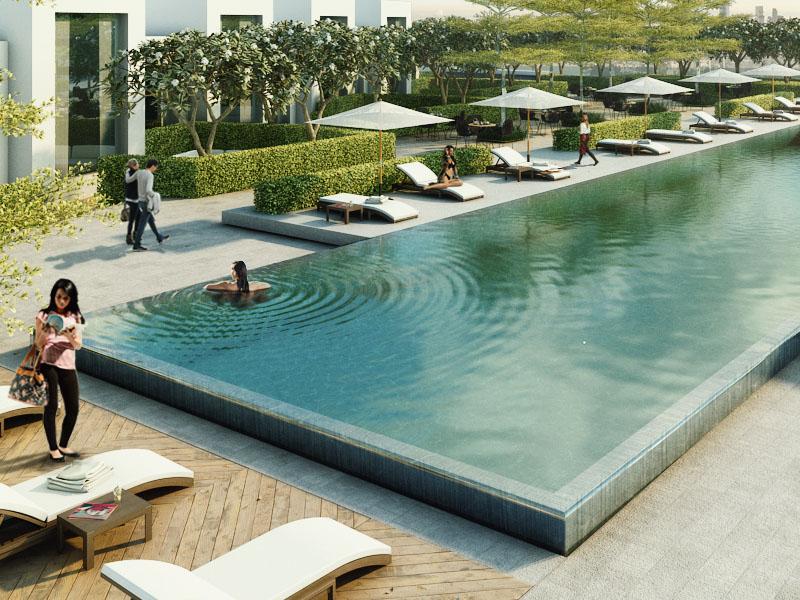 Dubai Creek Harbour Landscape Architectural Design by Desert INK