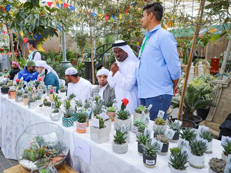 Enable fair in Dubai Garden Centre