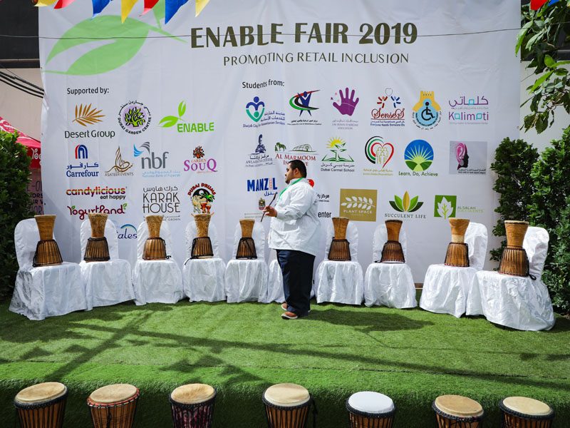 Enable fair in Dubai Garden Centre
