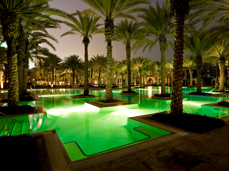 One & Only Royal Mirage Swimming Pool constructed by Desert Group