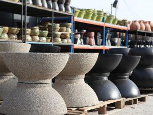 Pots in Dubai Garden Centre