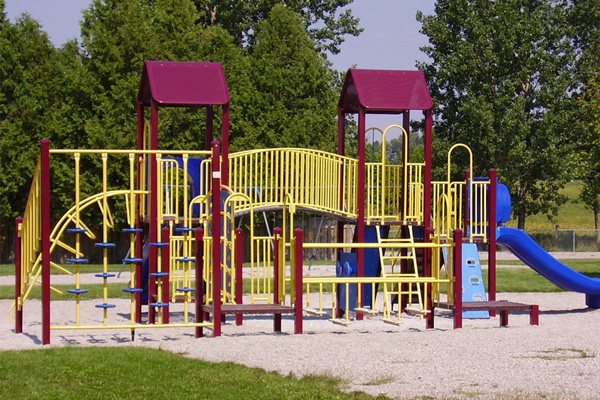 Kids play area available at Desert Turfcare General Trading