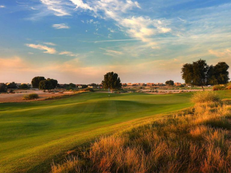 Arabian Ranches golf course constructed by Desert Group