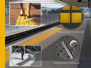 Tactile paving in Desert Turfcare General Trading