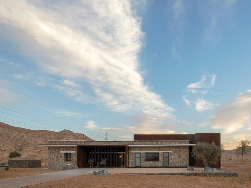 Al Faya Landscape Architectural Design by Desert INK