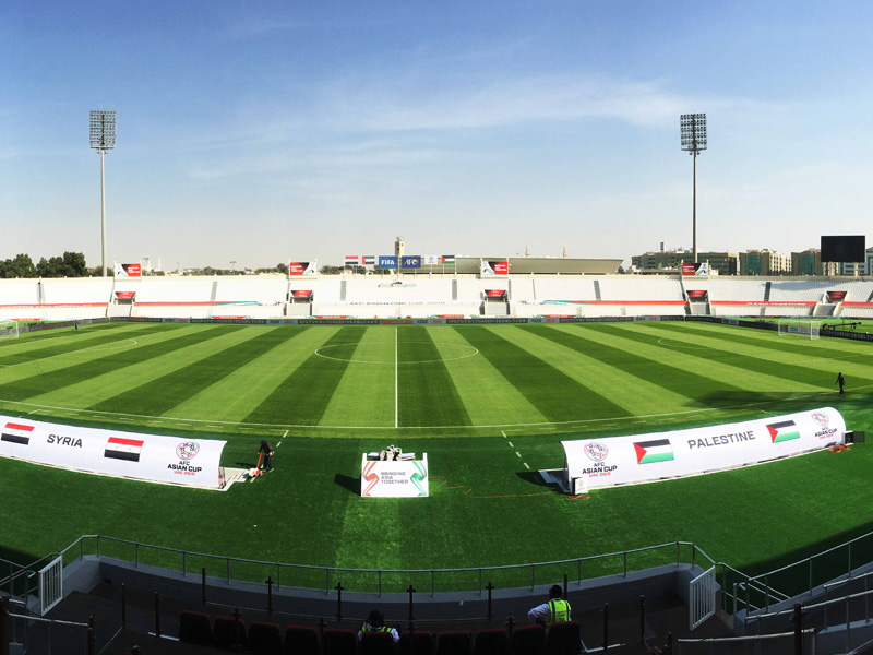 FIFA standard football pitches maintenance by desert turfcare