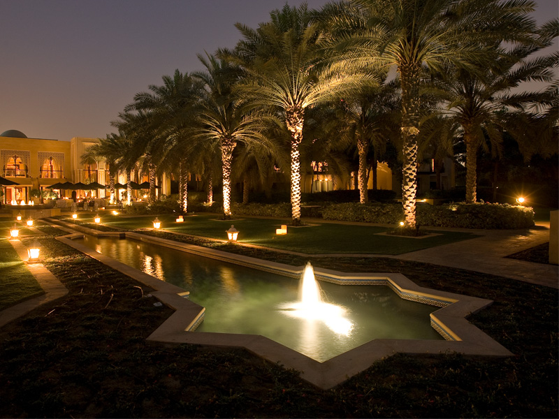 One & Only Royal Mirage water feature constructed by Desert Group