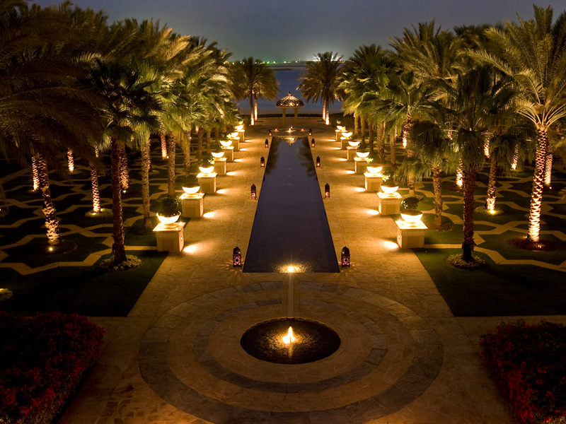 One & Only Royal Mirage swimming pool constructed by Desert Landscape