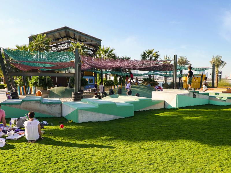 The Block Landscape Architectural Design by Desert INK
